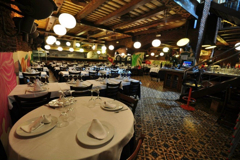 Vista del restaurante L'Hort