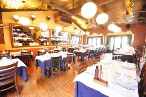 Sala superior del restaurante l'hort