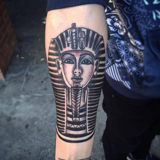 Tatuaje estilo egipcio
