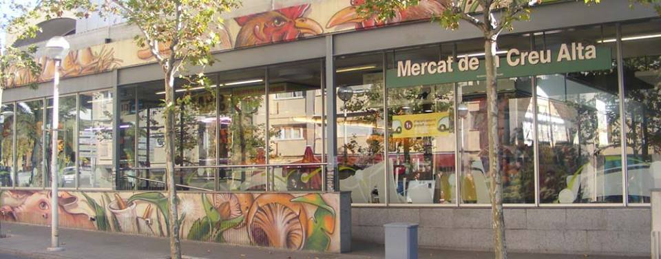 Entrada Mercado creu alta Sabadell