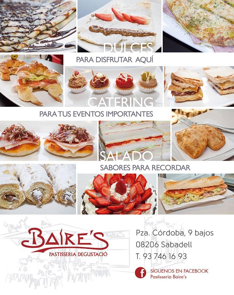 Baires Pastelería Cafetería Sabadell