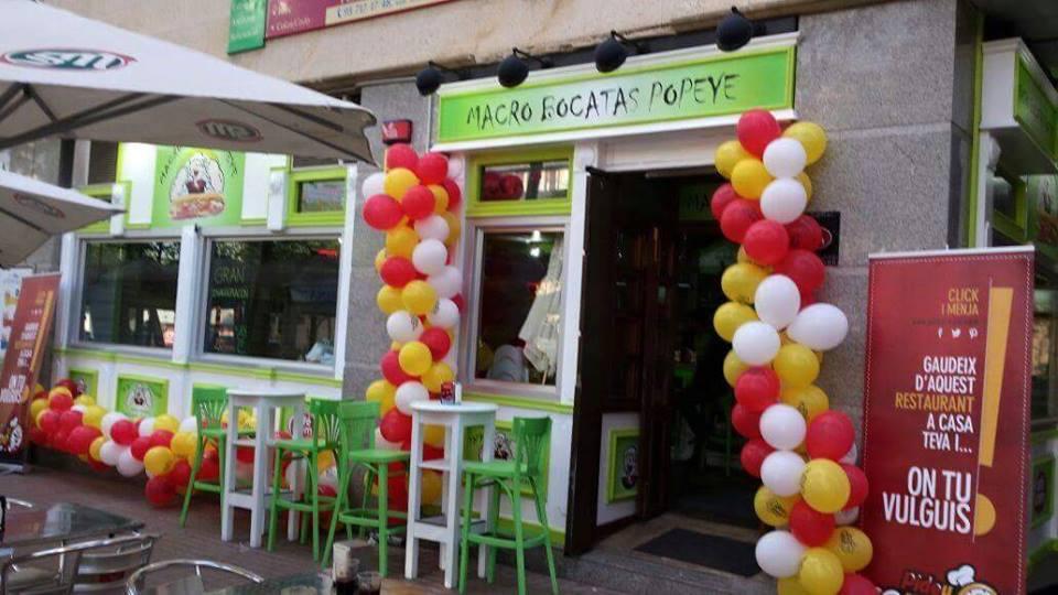 Macrobocatas Popeye en Sabadell
