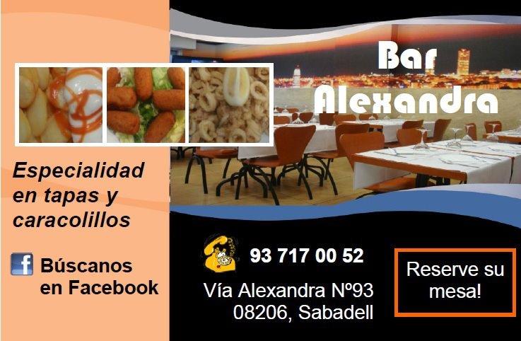 Bar-alexandra