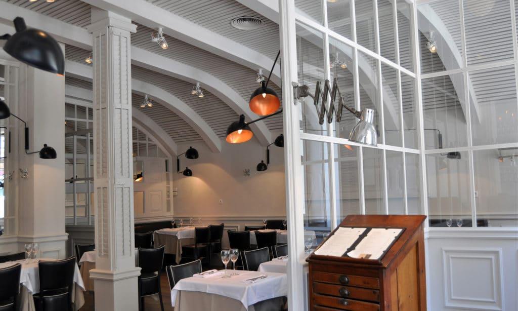 Interior del restaurante la rambla