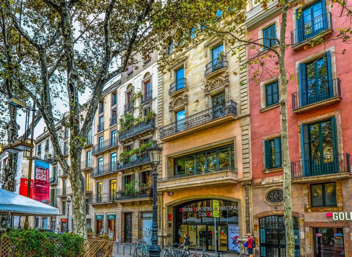 arco del triunfo barcelona-