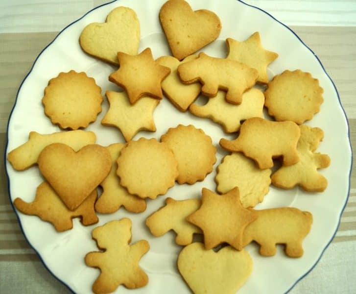 Como hacer galletas de mantequilla caseras para decorar con fondant