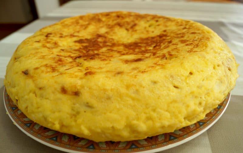 receta Tortilla española de patatas
