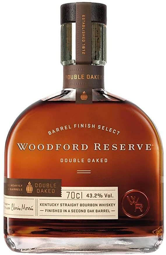 Woodford Reserve Kentucky Double Bourbon Straight Whisky.