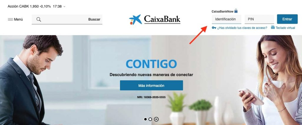 Cómo pedir el certificado de titularidad bancaria la Caixa