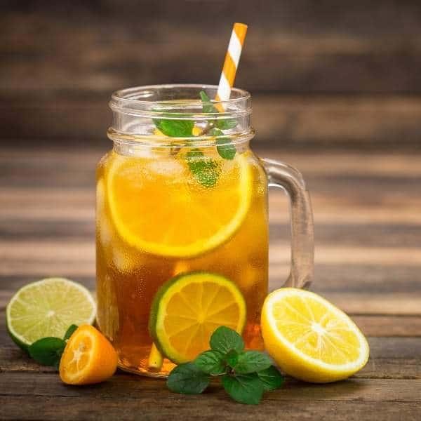 beneficios del té de limón