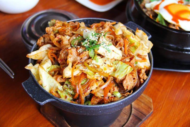 mejores platos comida coreana