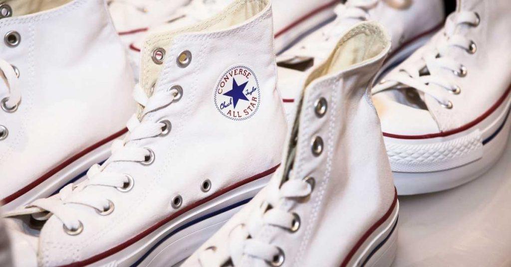 limpiar las Converse blancas